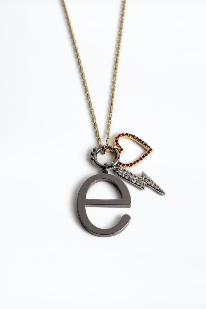 Letter E Necklace
