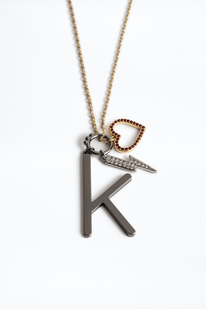 Letter K Necklace