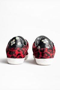 Zadig Leo Flower Sneakers