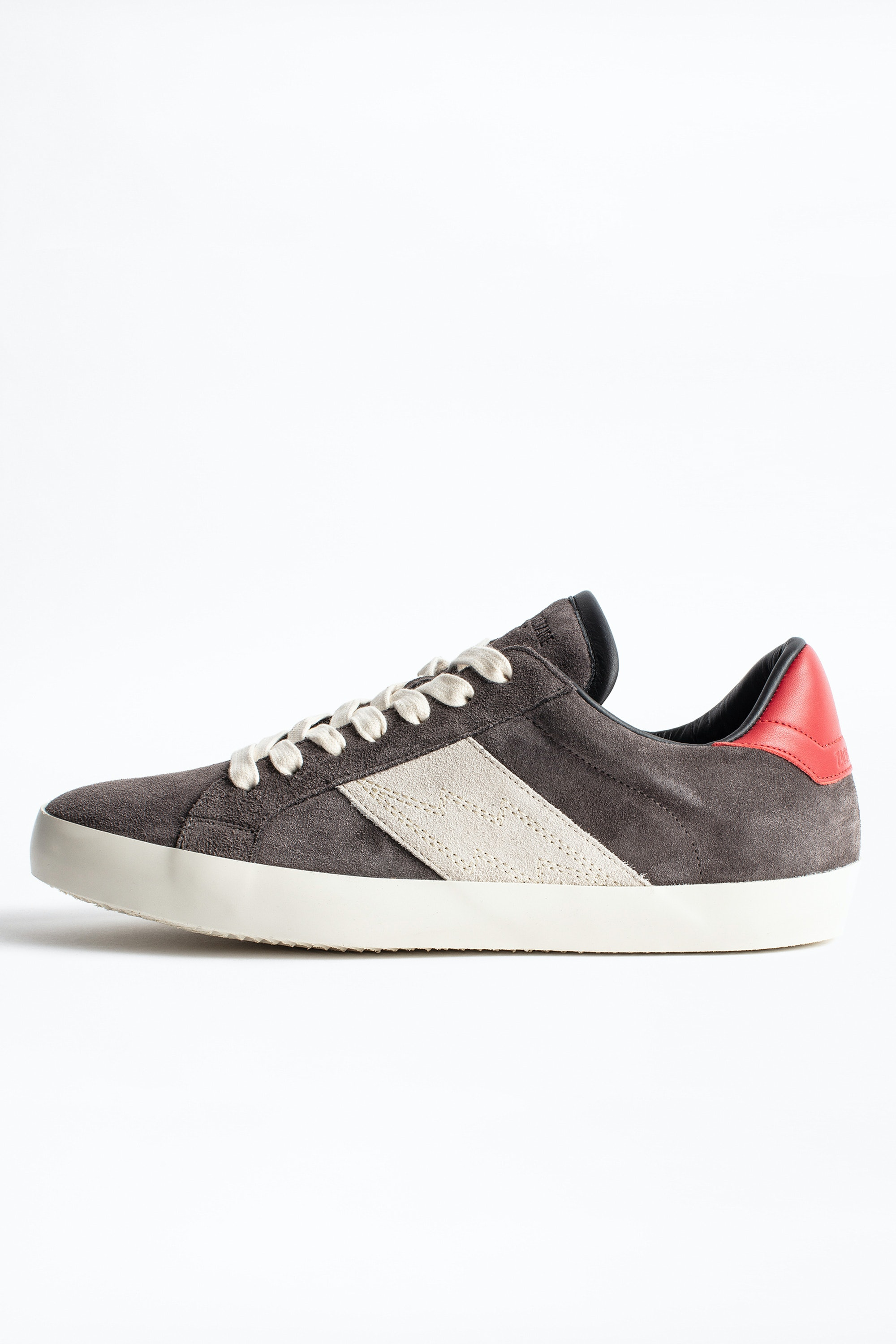 Zadig Patch Suede Men Sneakers