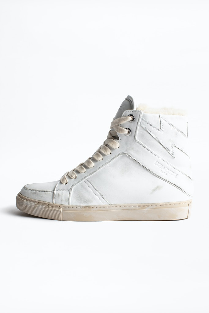 Sneakers ZV1747 High Used Shearling