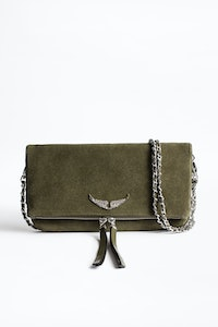 Clutch Rock Suede Patent