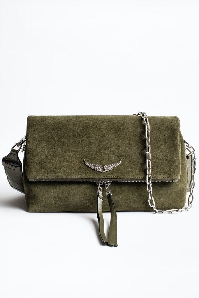 Bolso Rocky Suede Patent