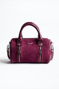 Xs Sunny Suede Patent Bag