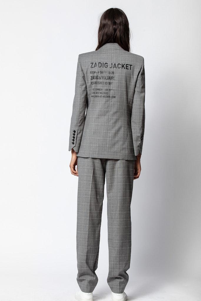 Pantalon Profil Check