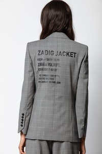 Visko Carreaux Jacket