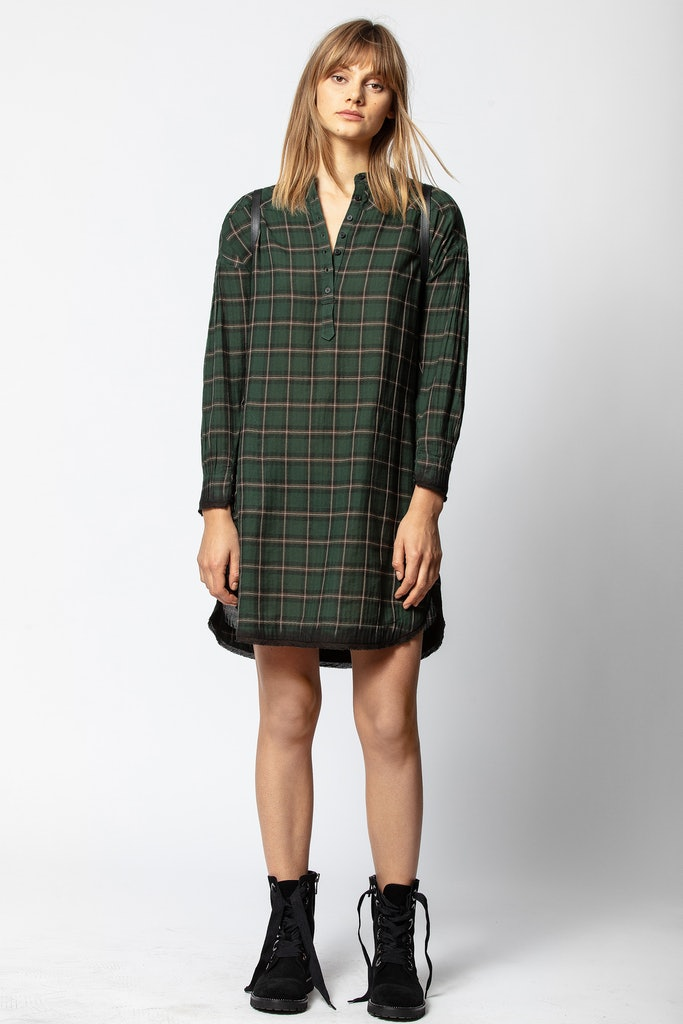 Reck Carreaux Dress