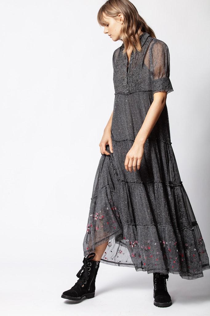 Rapidel Print Flow Dress