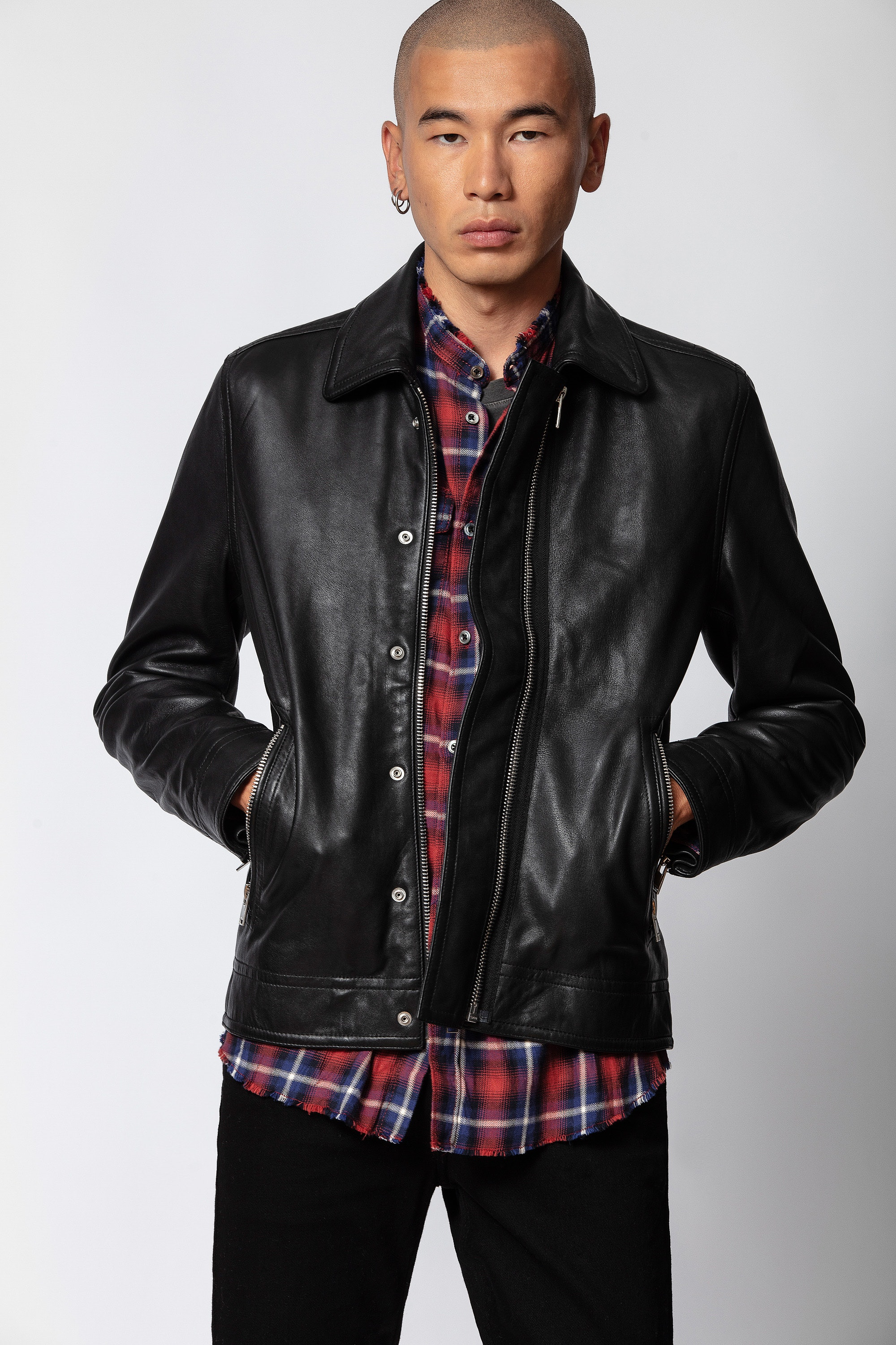 Lam Cuir Washed Jacket