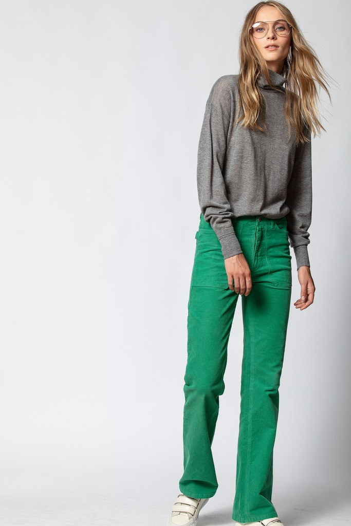 Pantalon Pista Velours
