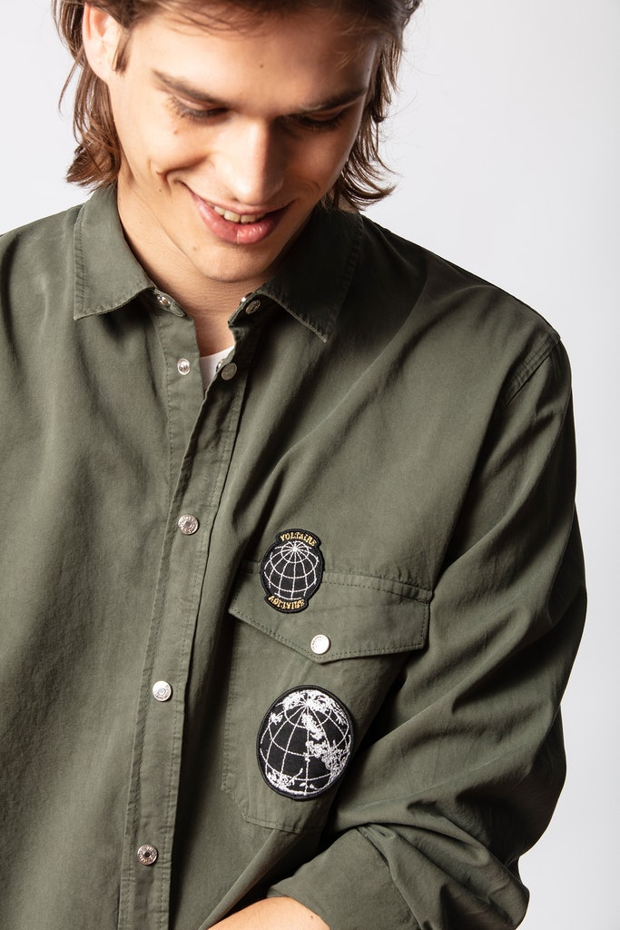 Stan Mili Badge Shirt