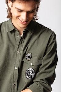 Stan Mili Badge Shirt
