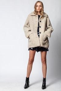 Magdas Shearling Coat