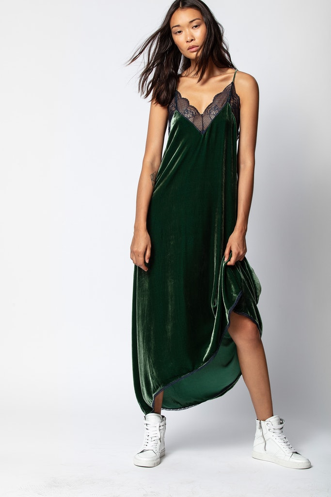 Risty Velvet Dress