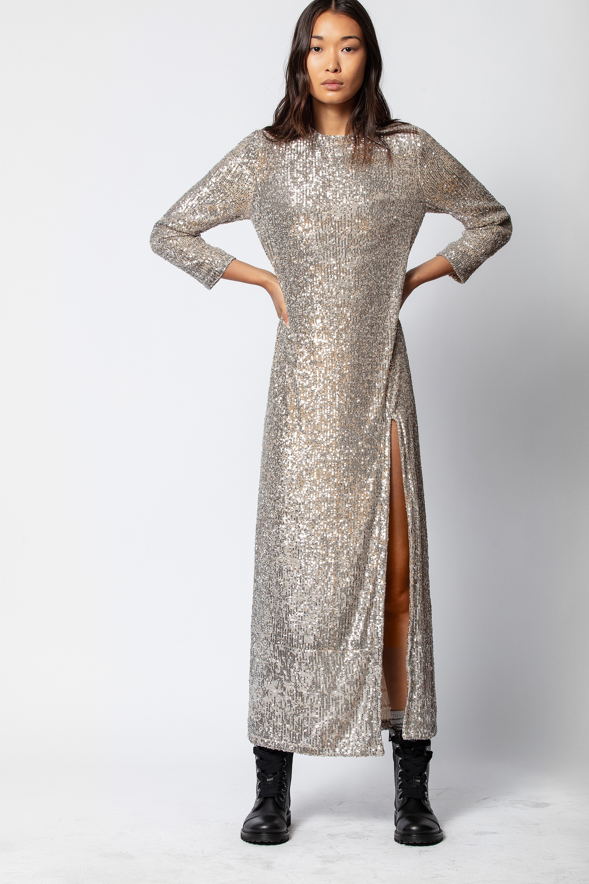 Rising Sequin Dress
