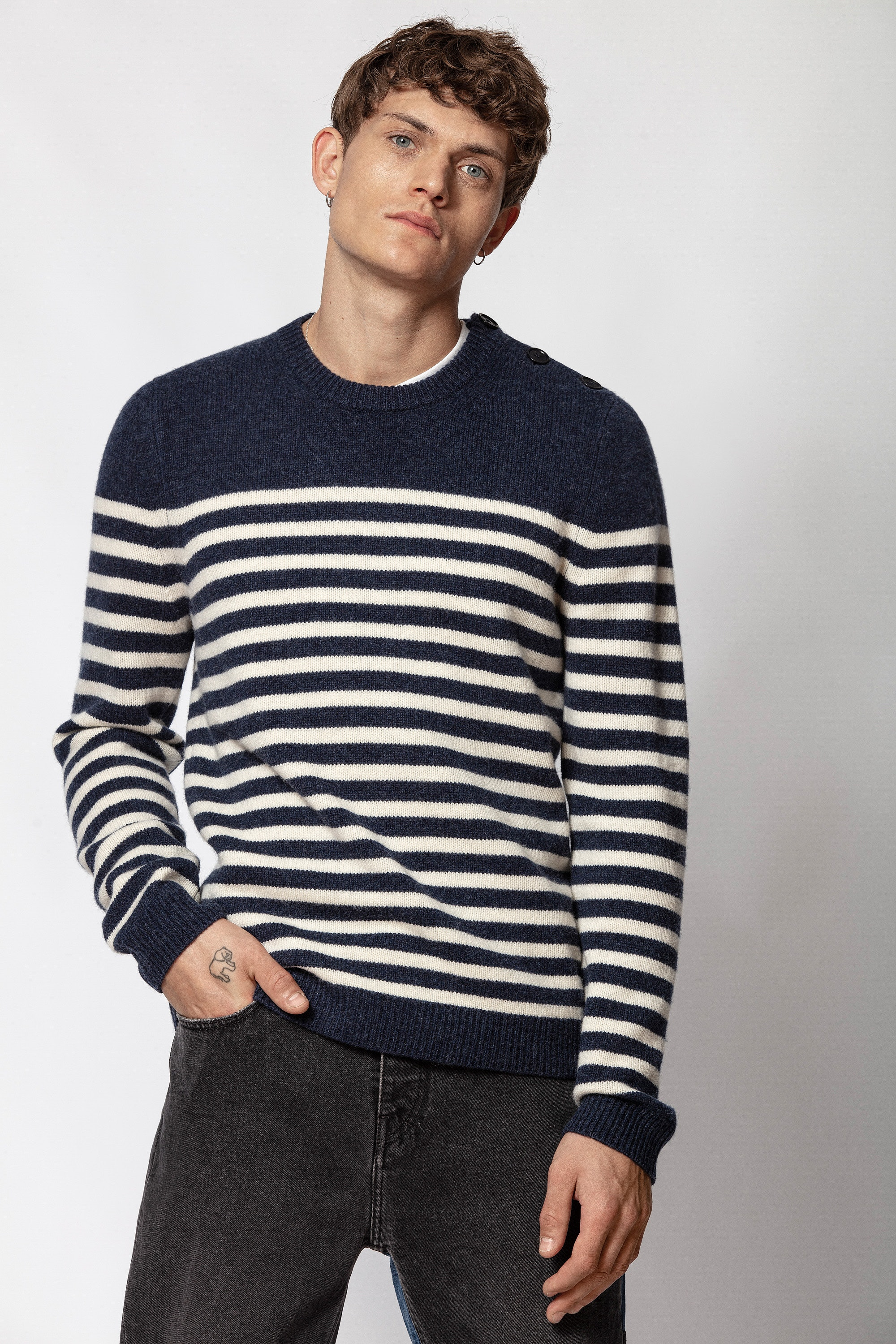 Jeremy Stripes Sweater
