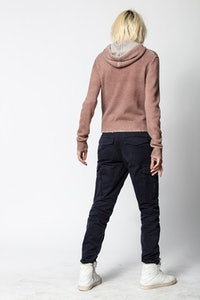 Mina Cachemire Spray Sweater