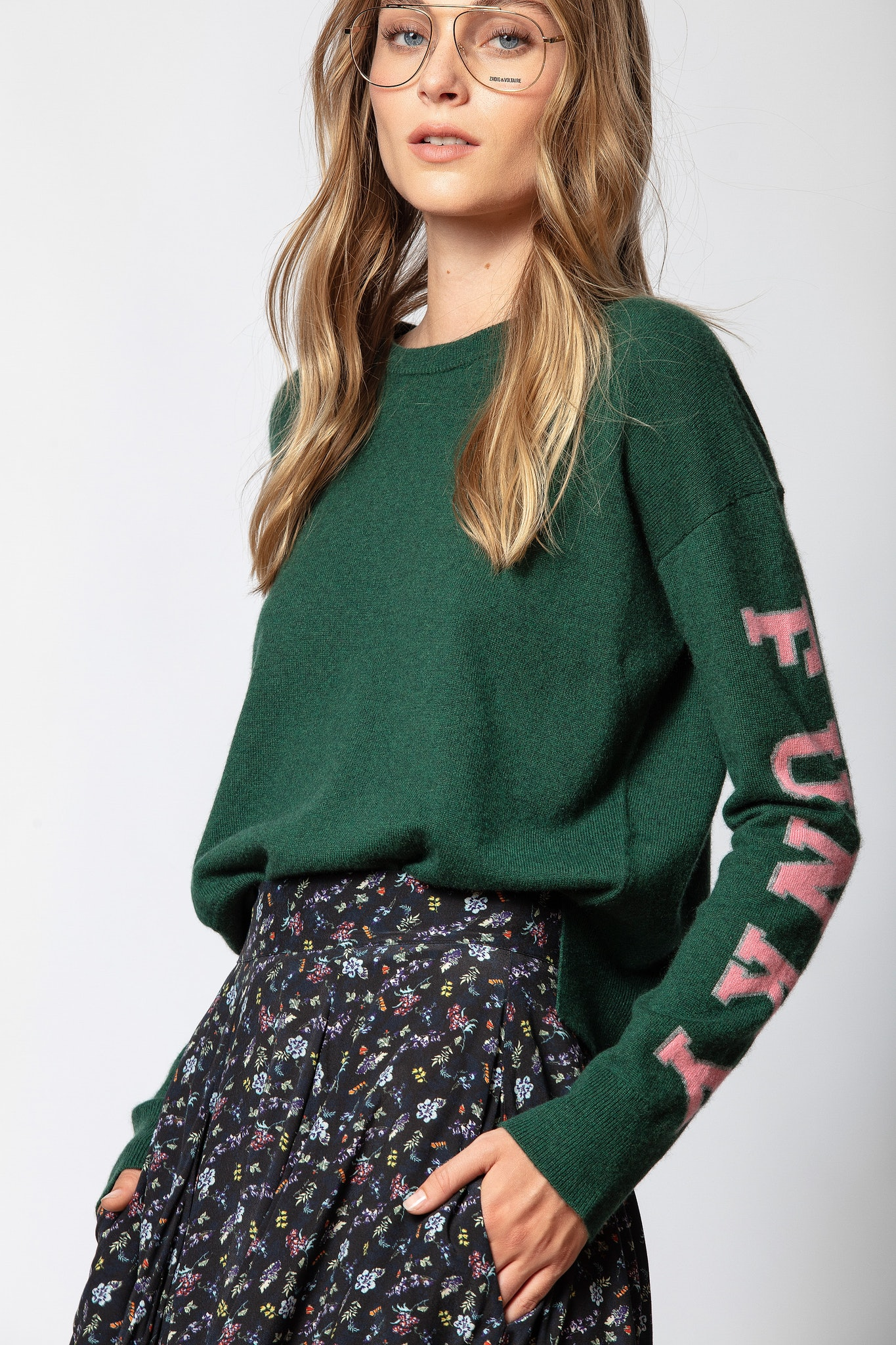 Loulou Cachemire Funky Sweater