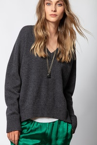 Brumy Sweater Dip Dye