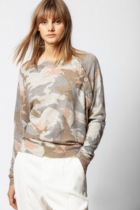 Pull Justy Cachemire Camou