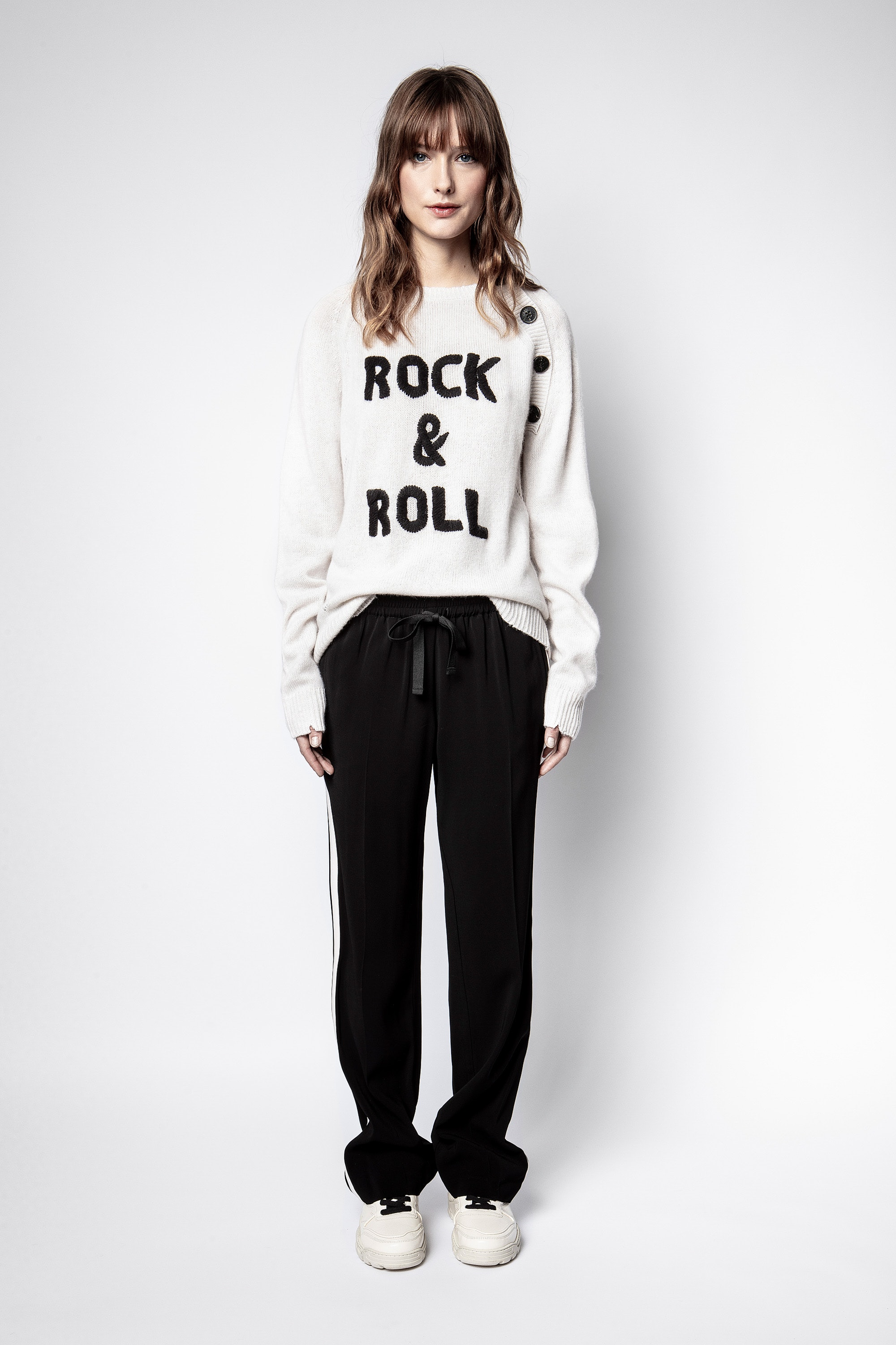 Reglis Cashmere Rock Sweater