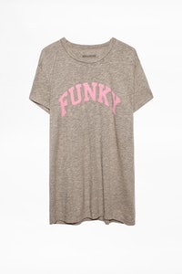 Walk Funky Overdyed T-shirt
