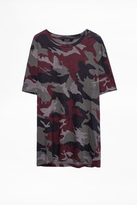 Tommy Lin Camou T-shirt