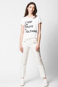 T-shirt Woop Voltaire