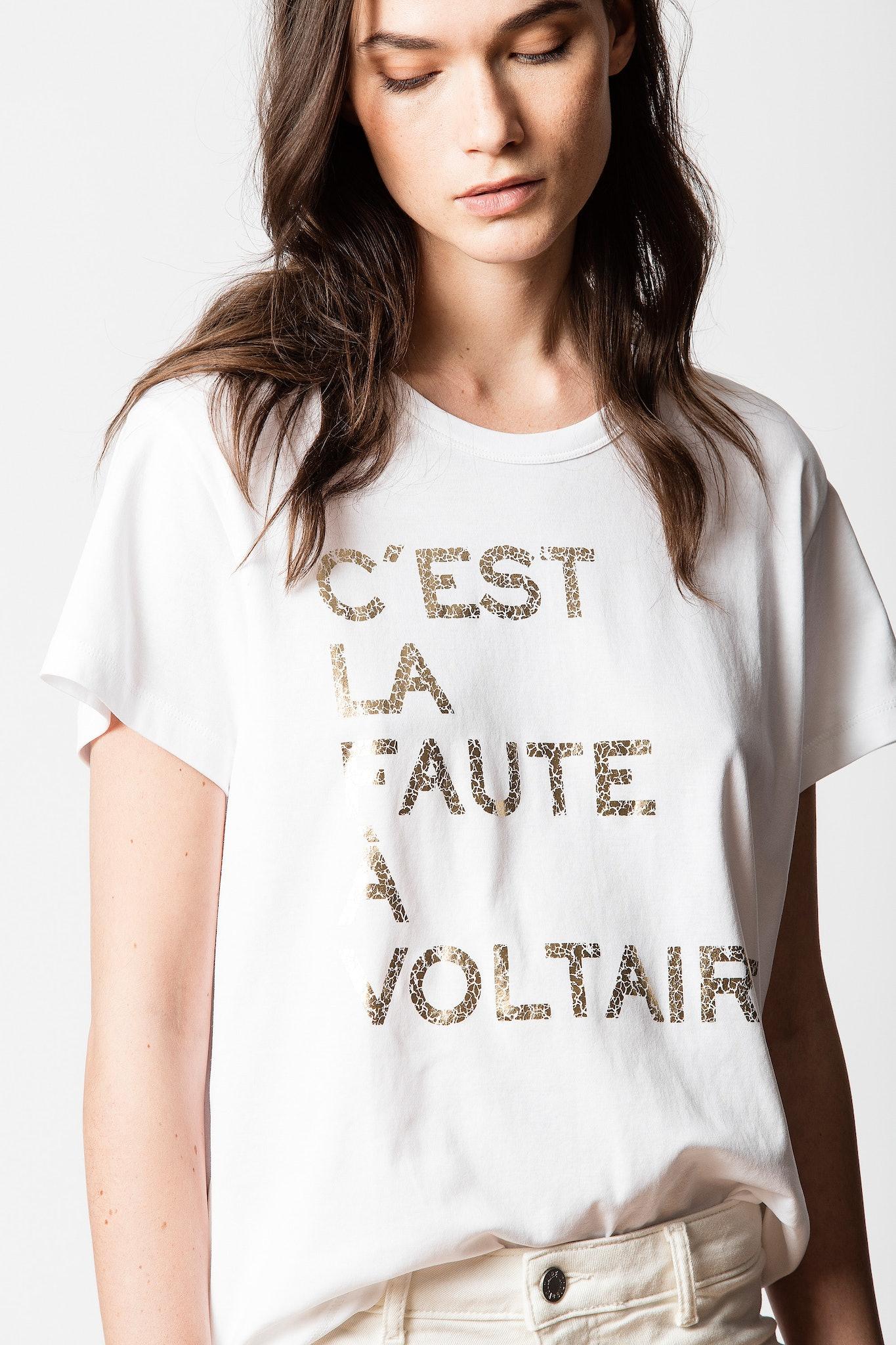 T-shirt Redo Voltaire
