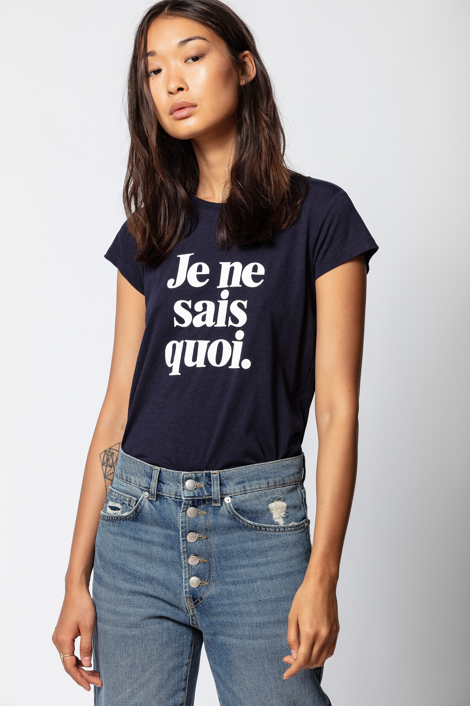 T-Shirt Skinny Je Ne Sais Quoi