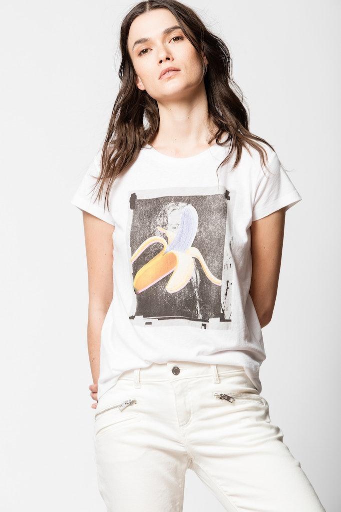 T-shirt Skinny Banane
