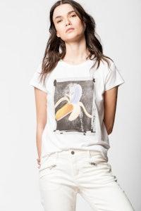 Banane Skinny T-shirt