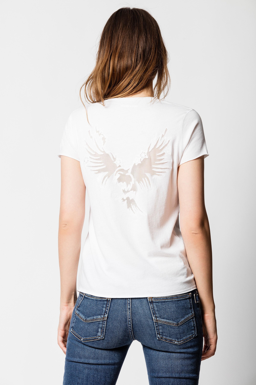Fishnet Eagle T-shirt