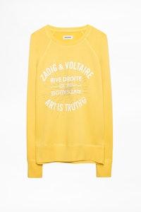 Upper Strass Blason Sweatshirt