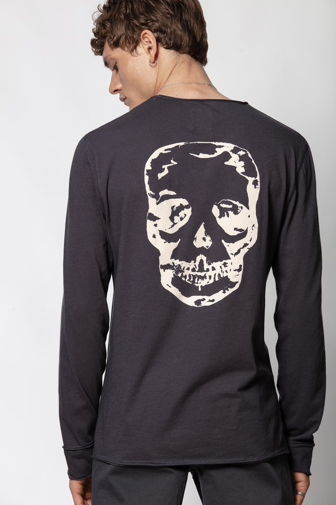 Monastir Skull Used T-shirt