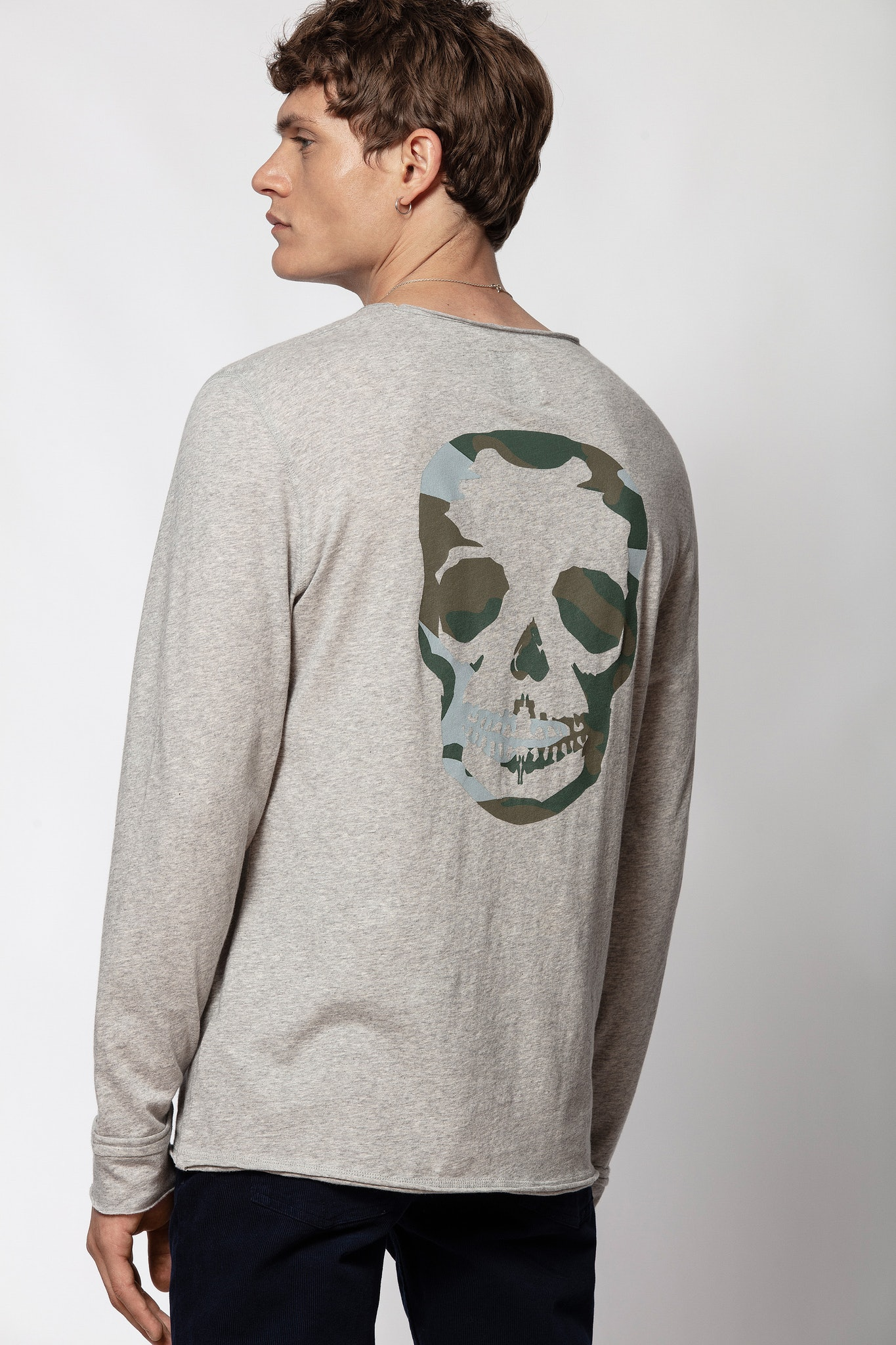 Monastir Skull Camou T-shirt