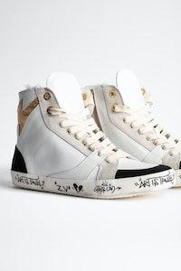 Sneakers  Zadig Used High Flash Jormi