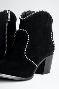 Bottines Molly Suede Studs