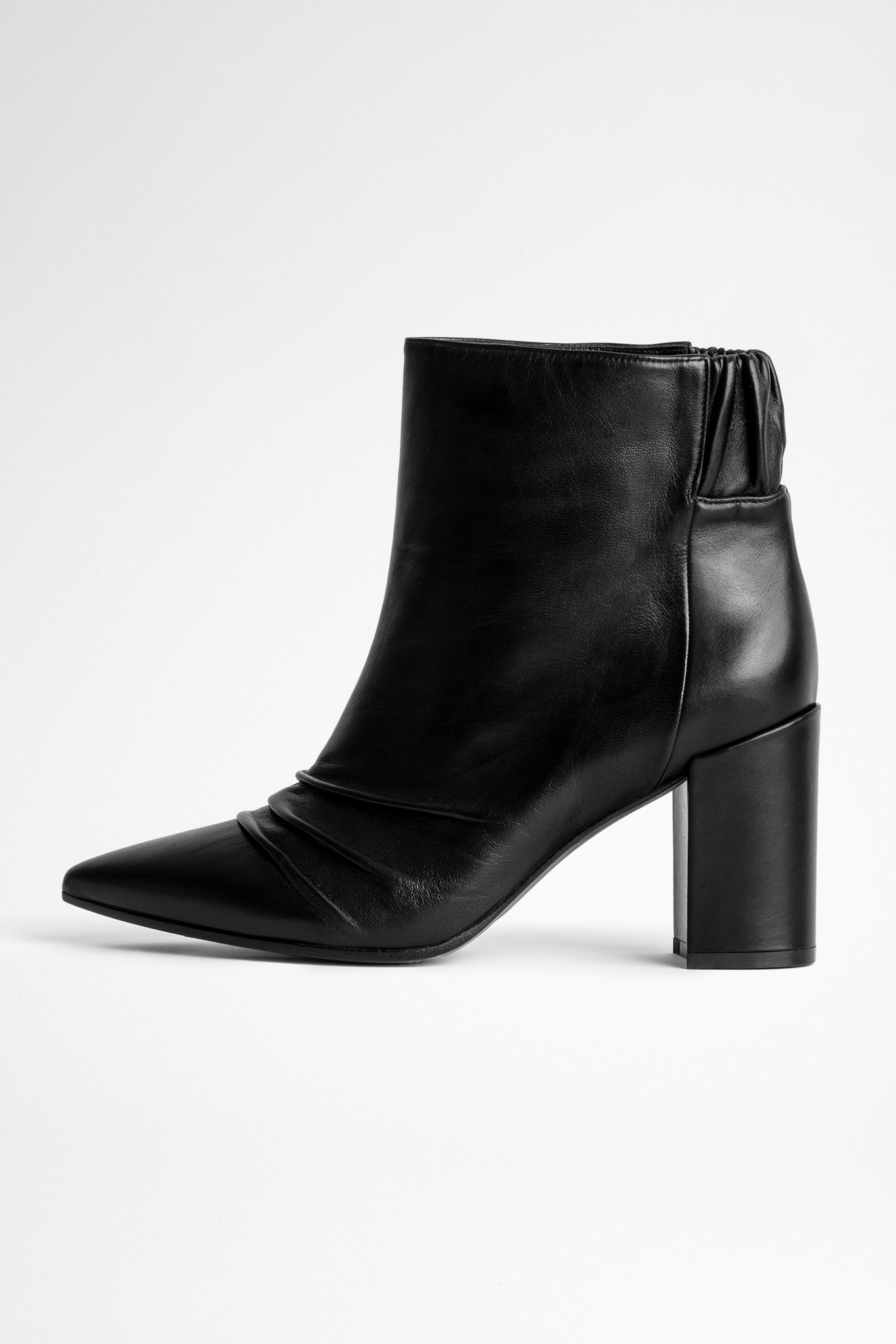 Glimmer Elastic Ankle Boots