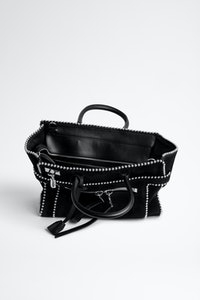 Candide Medium Zip Suede Bag