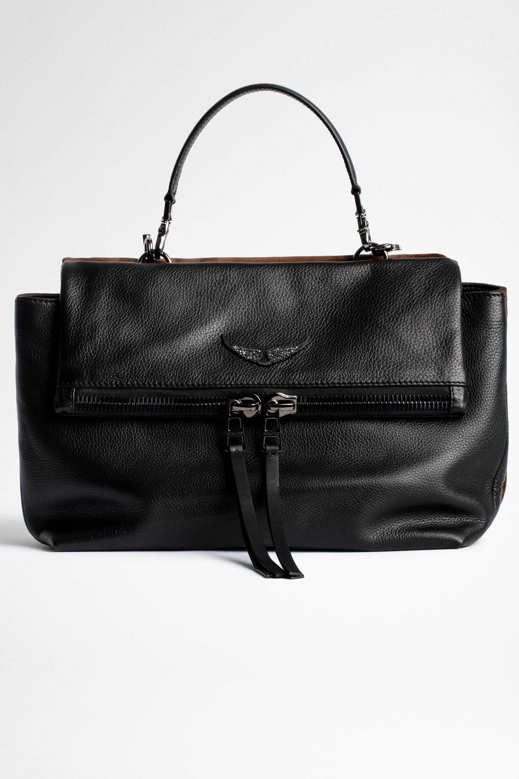 Bolso Twin's Zip Grained Ante