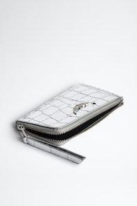 ZV Card Croco Card Holder