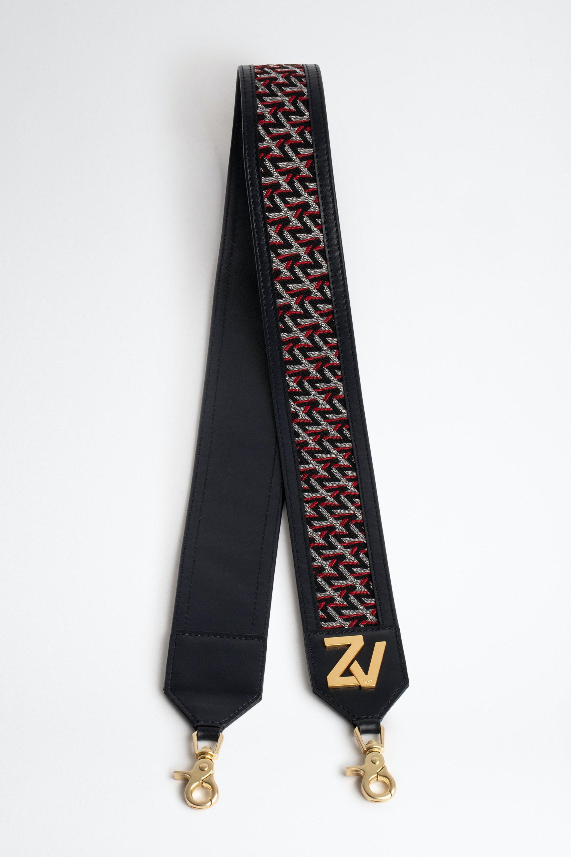 ZV Initiale La Bandoulière Monogram Shoulder Strap
