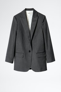 Viva Pinstripe Strass Jacket