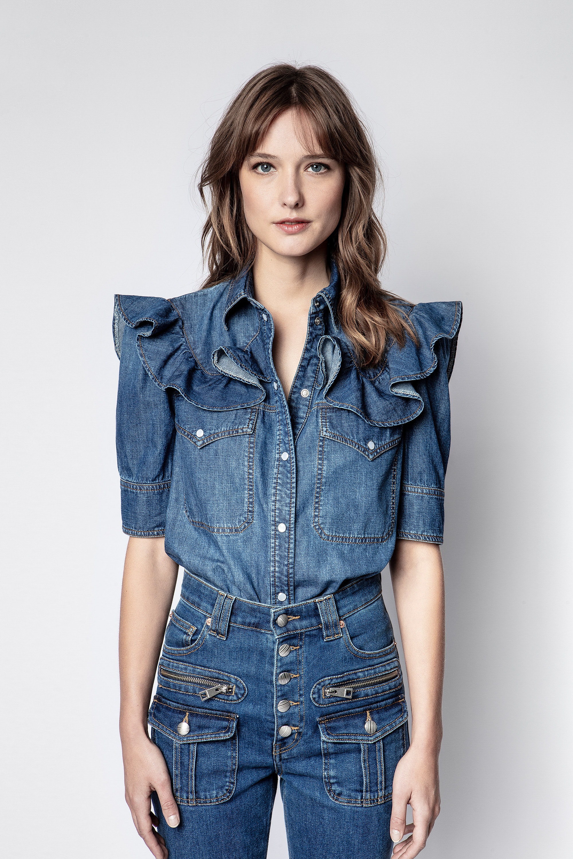 Camisa Toky Denim