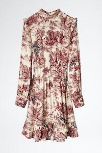 Rocket Jouy Satin Dress