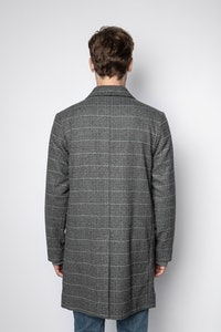 Marlo Check Coat
