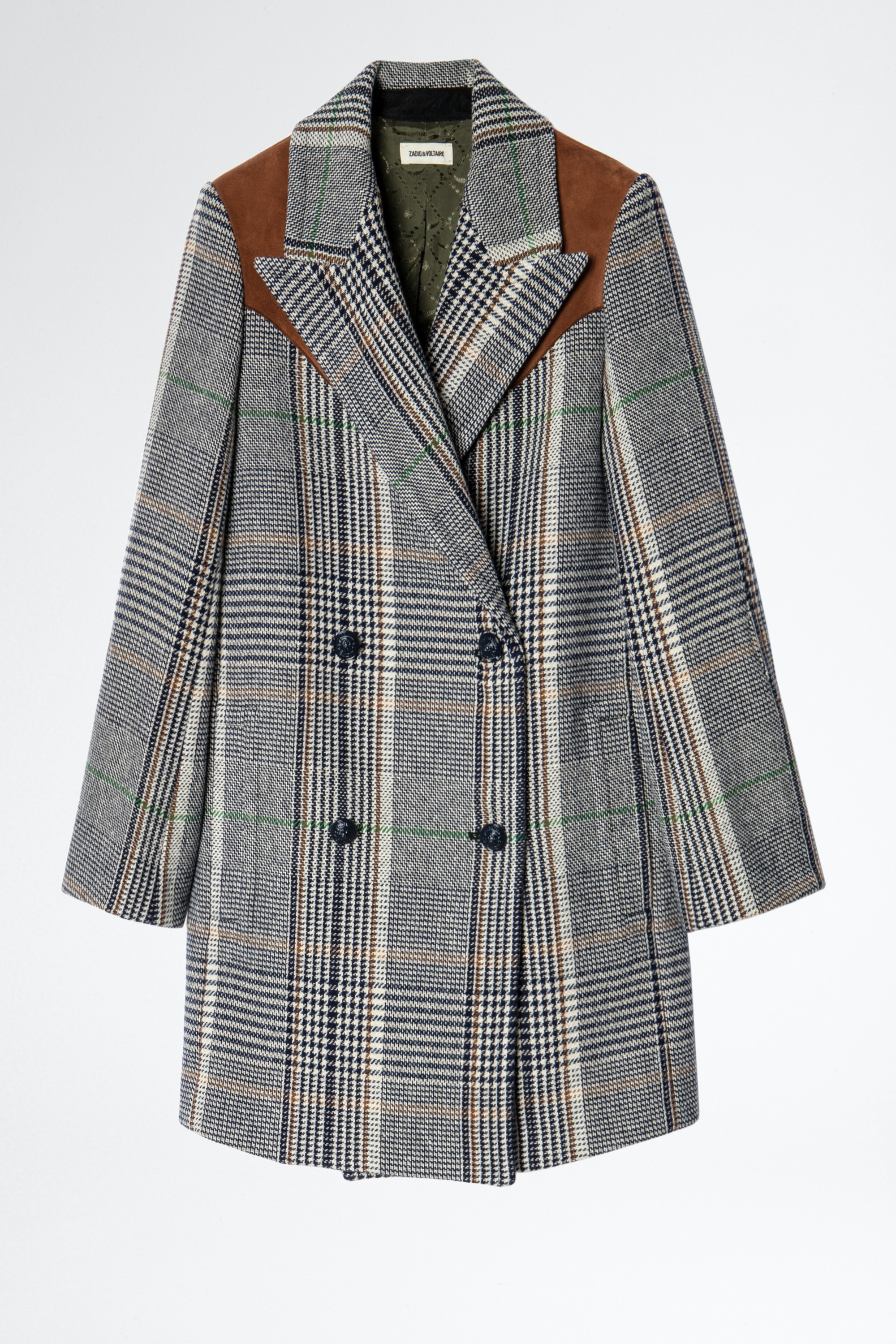 Motty Carreaux Coat