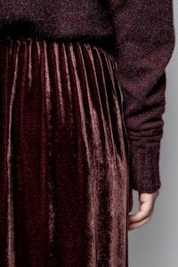Jillian Velvet Skirt