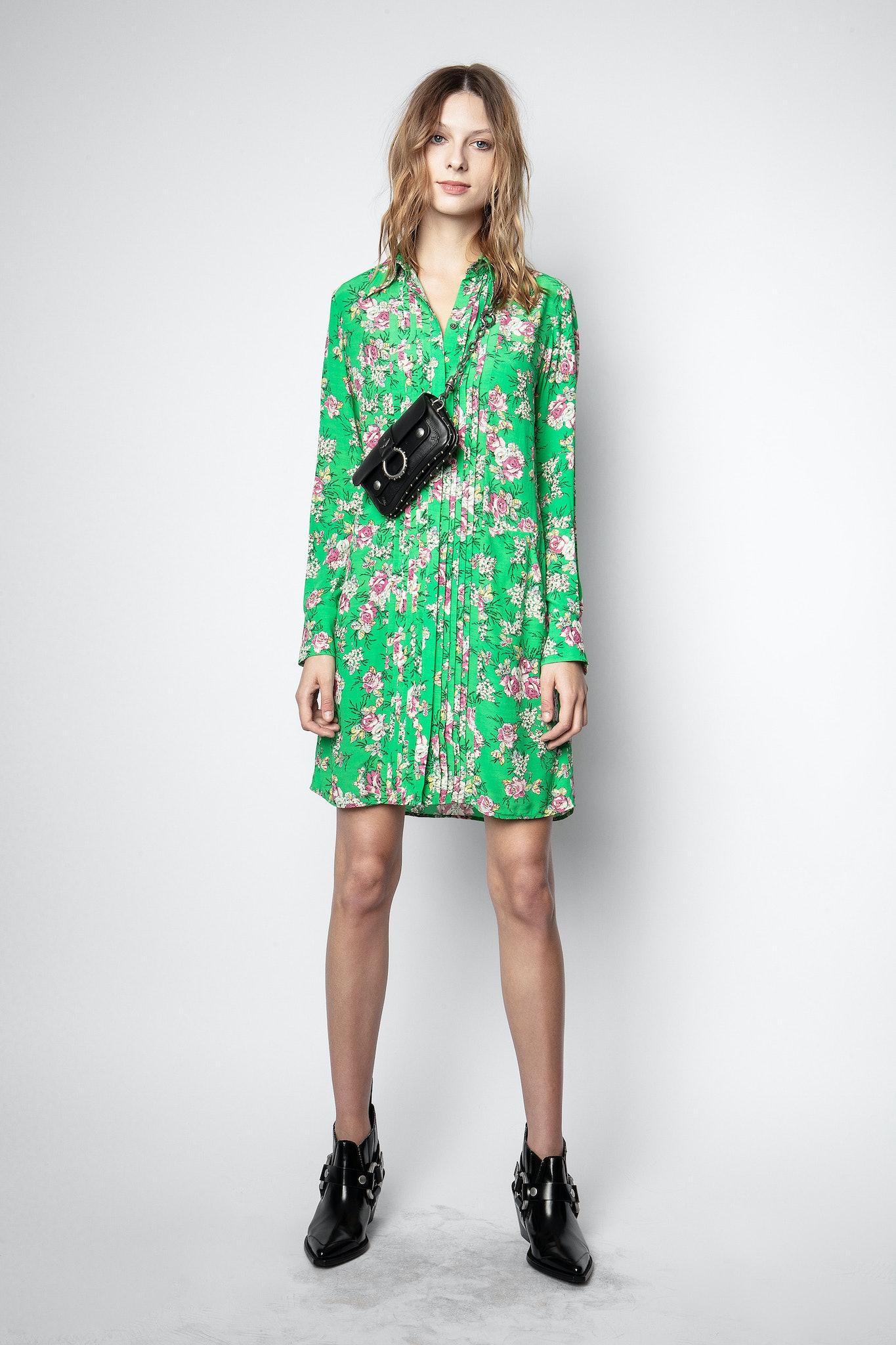 Rougi Print Roses Dress